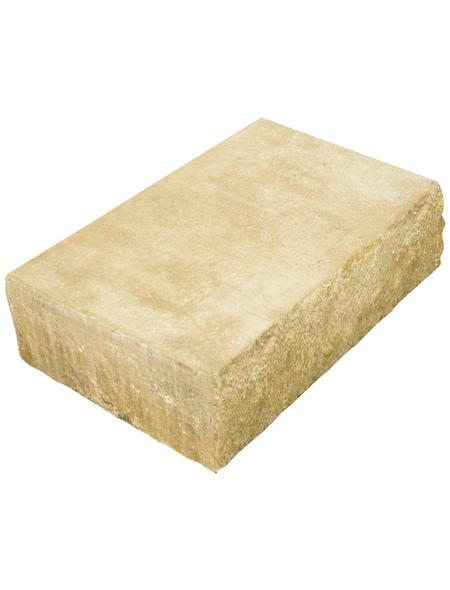 MR. GARDENER Blockstufe, B x L x H: 50 x 34,5 x 15 cm, Beton