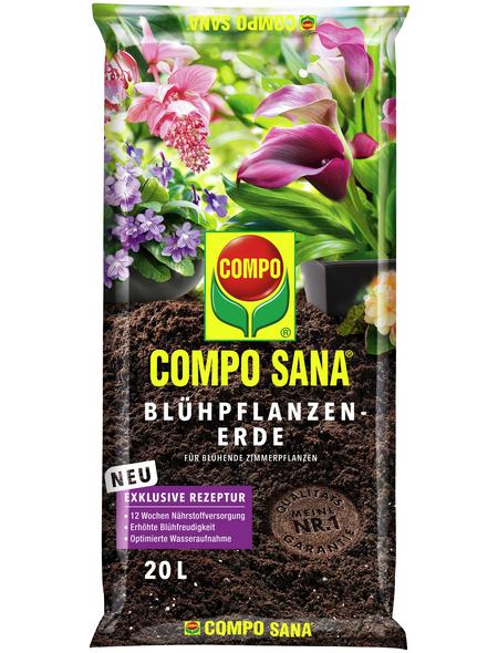 COMPO Blühpflanzenerde »COMPO SANA®«, für Blühpflanzen