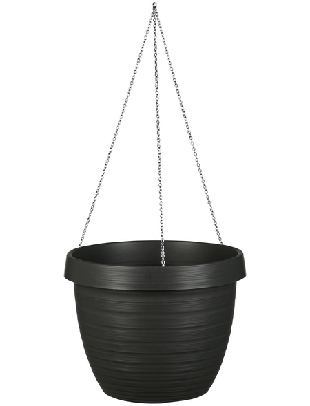 CASAYA Blumenampel »CATANIA«, ØxH: x 18,6 cm, grau/anthrazit