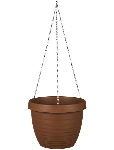 CASAYA Blumenampel »CATANIA«, ØxH: x 22,6 cm, terrakottafarben