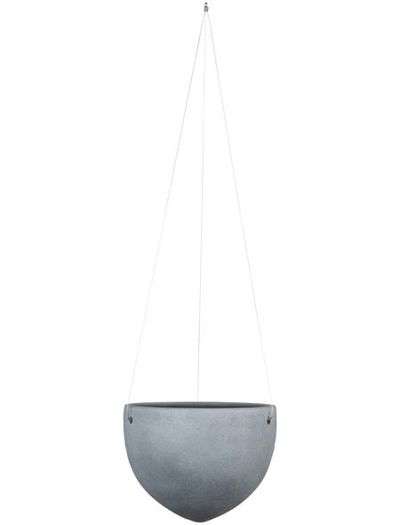 SCHEURICH Blumenampel »HANGING POT«, ØxH: 18 x 14,8 cm, rot