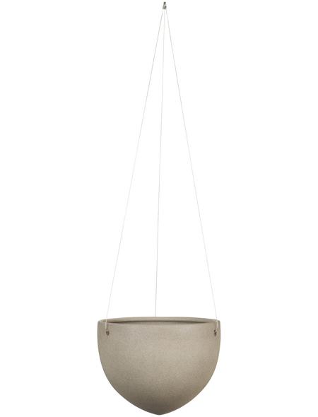 SCHEURICH Blumenampel »HANGING POT«, ØxH: 18 x 14,8 cm, taupe