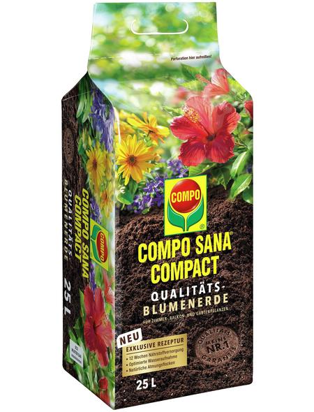 COMPO Blumenerde »COMPO SANA®«, für Grün- und Blühpflanzen