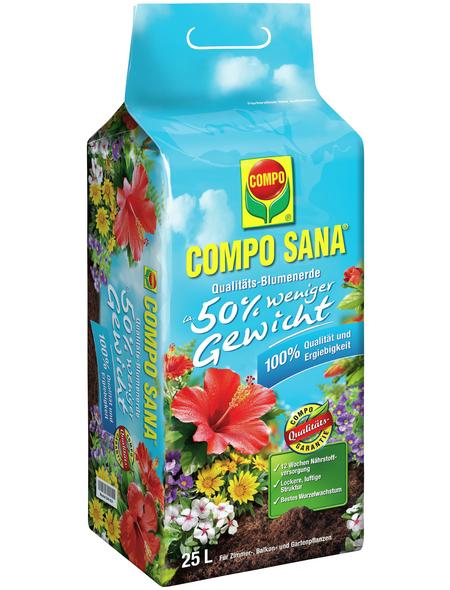 COMPO Blumenerde »COMPO SANA®«, für Zimmer- und Balkonpflanzen in Gefäße