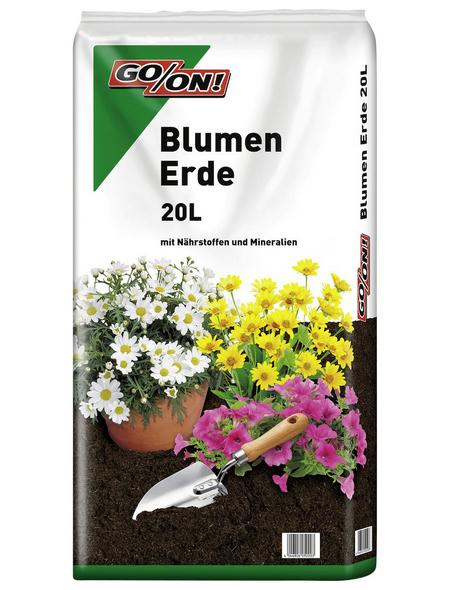 GO/ON! Blumenerde, für Outdoorpflanzen