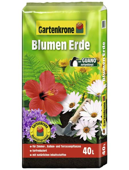 GARTENKRONE Blumenerde, für Zimmer-,Balkon- und Kübelpflanzen