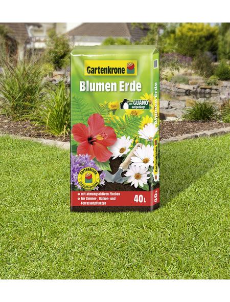 GARTENKRONE Blumenerde, für Zimmer-,Balkon- und Terassenpflanzen