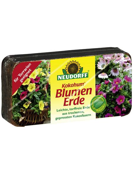 NEUDORFF Blumenerde »KokoHum«, für für Blumen und Aussaaten, torffrei