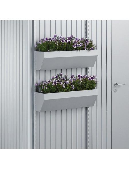 BIOHORT Blumenkasten »FloraBoard«, Stahlblech