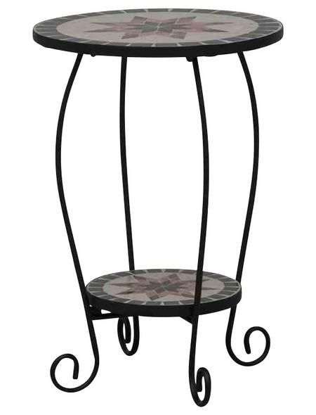 SIENA GARDEN Blumenständer »Stella«, Stahl, grau, HxT: 60 x 40 cm