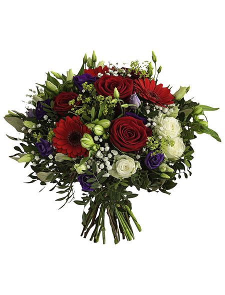 """Blumenstrauß »Saisonale Blumen """"Red Passion""""«, Ø 37–39 cm"""