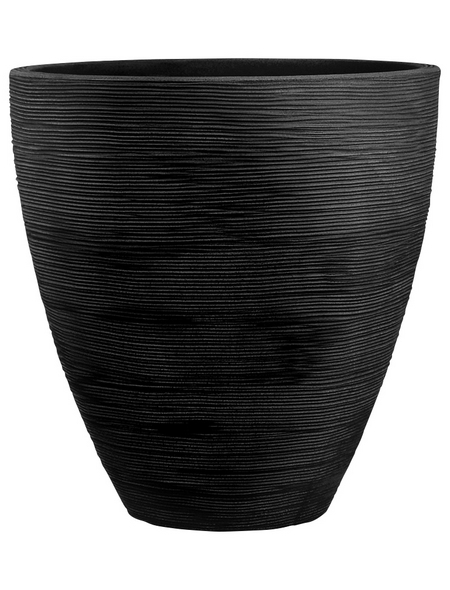 Blumentopf, ØxH: 40 x 42 cm, anthrazit