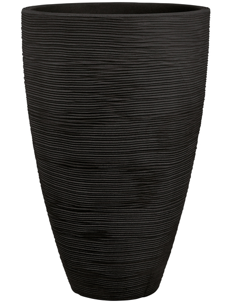 Blumentopf, ØxH: 40 x 60 cm, anthrazit