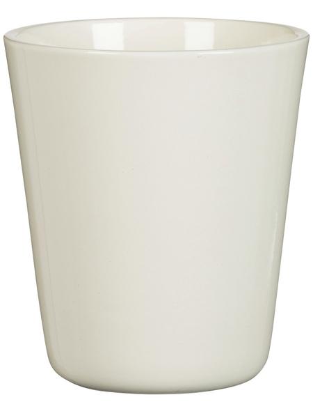 SCHEURICH Blumentopf »ORCHID«, Breite: 12,3 cm, creme, Keramik