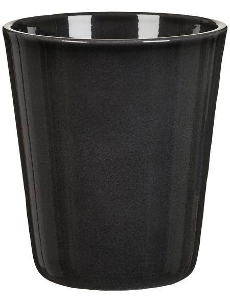 SCHEURICH Blumentopf »ORCHID«, Breite: 12,3 cm, grey, Keramik