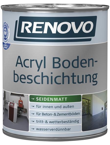 RENOVO Bodenbeschichtung, oxidrot, seidenmatt