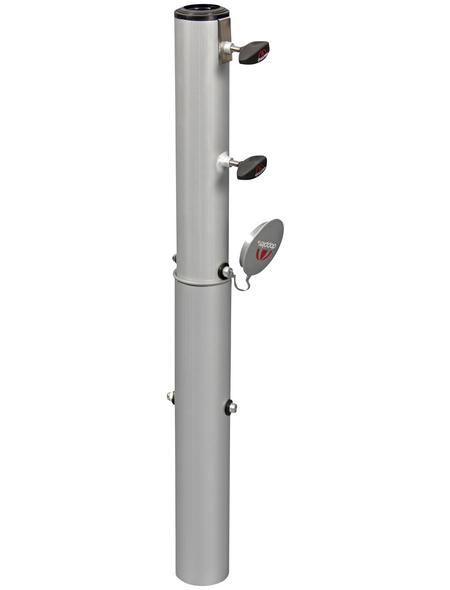 DOPPLER Bodenhülse, Aluminium, ØxH: 7 x 71 cm