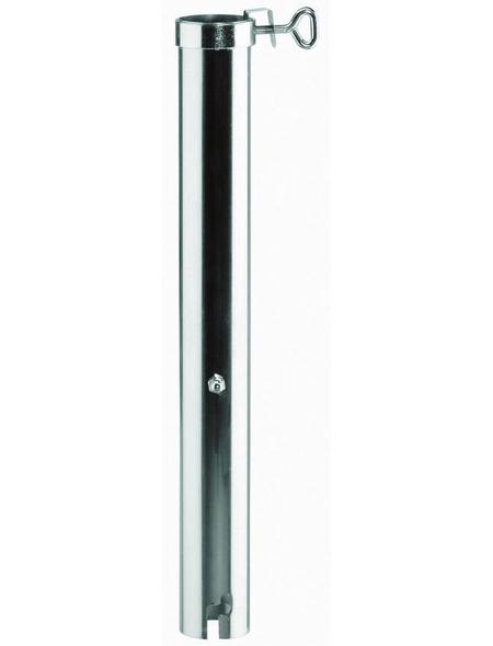 BEST Bodenhülse, Stahl, BxHxL: 7 x 72 x 10 cm