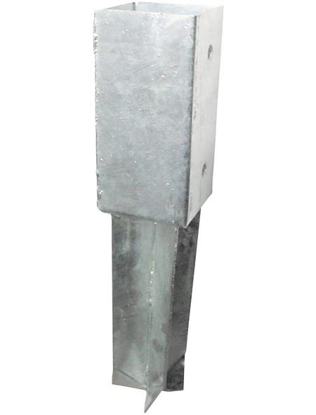 CONNEX Bodenhülse, Stahl, BxL: 91 x 350 mm