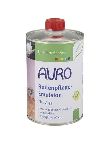 AURO Bodenpflege-Emulsion, transparent, 1 l