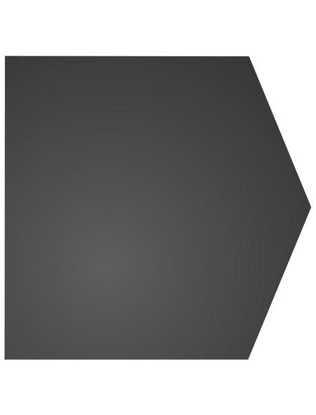 COLOR EMAJL Bodenplatte, BxL: 100 x 100 cm