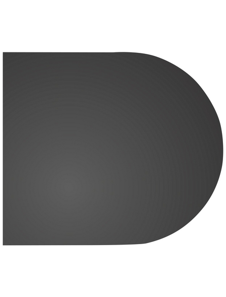 COLOR EMAJL Bodenplatte zum Funkenschutz, B x L: 100 x 100 cm