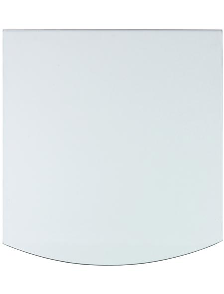 Bodenplatte zum Funkenschutz, B x L: 80 x 100 cm