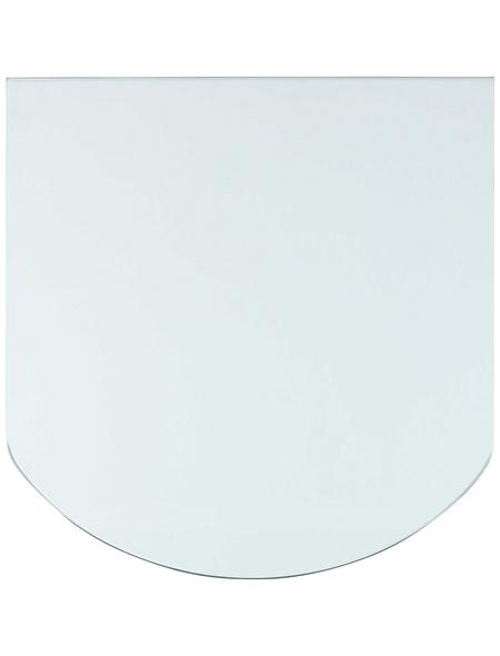 Bodenplatte zum Funkenschutz, B x L: 85 x 110 cm