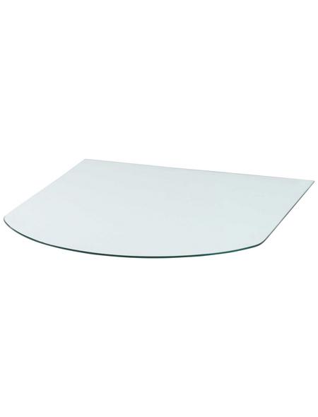 Bodenplatte zum Funkenschutz, B x L: 85 x 85 cm