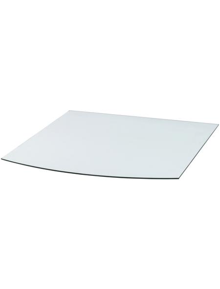 TIS Bodenplatte zum Funkenschutz, Sicherheitsglas, BxL: 100 x 120 cm