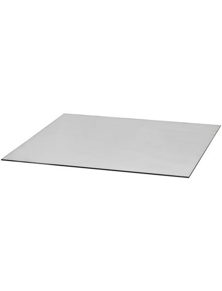 TIS Bodenplatte zum Funkenschutz, Sicherheitsglas, BxL: 110 x 110 cm