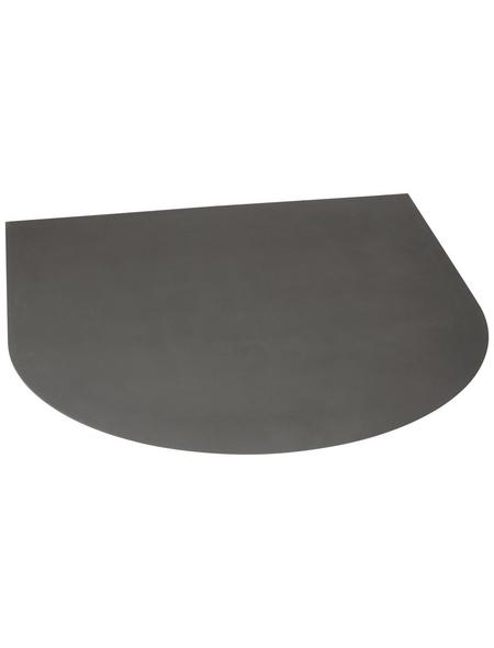 FIREFIX® Bodenplatte zum Funkenschutz, Stahl, BxL: 100 x 110 cm