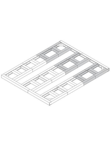 TEPRO Bodenrahmen »Colossus«, B x L: 352,2  x 312,3  cm