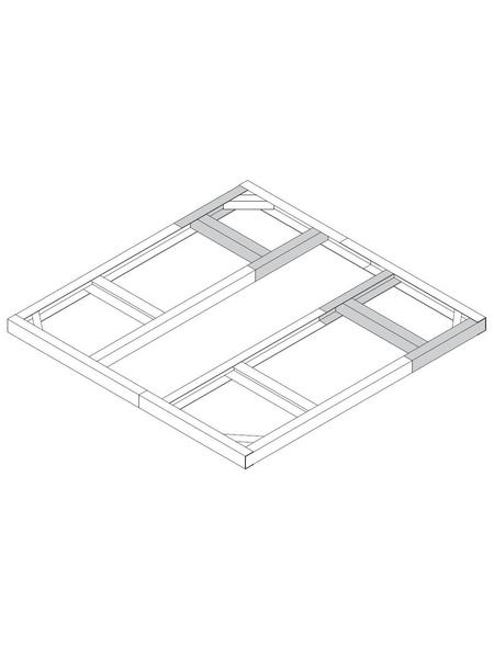 TEPRO Bodenrahmen »Riverton«, B x L: 172,1  x 192,2  cm
