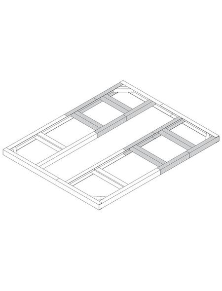 TEPRO Bodenrahmen »Riverton«, B x L: 232,1  x 192,2  cm