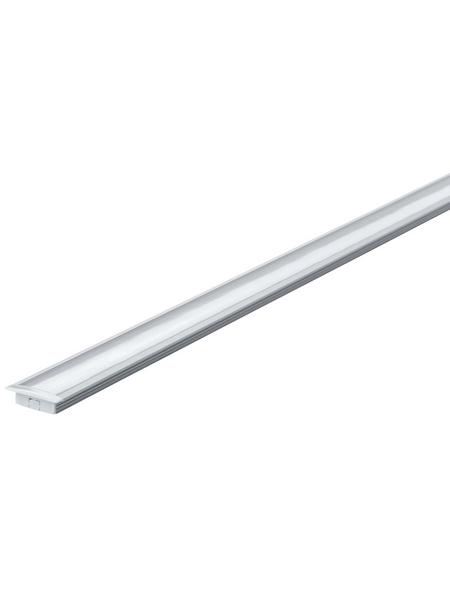 PAULMANN Bodenschiene »FLOOR«, Kunststoff/Aluminium, silberfarben/satin