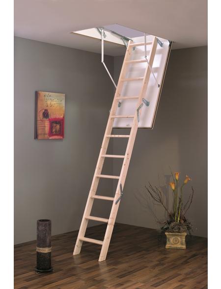 GO/ON! Bodentreppe »GO/ON«, max. Raumhöhe 280 cm, Fichte, U-Wert 1,2 W/(m²K)