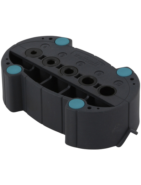 WOLFCRAFT Bohrhilfe »Accumobil Basic«, Kunststoff/Stahl