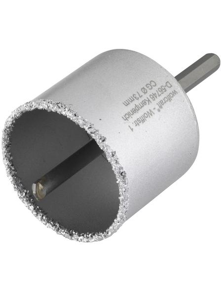 WOLFCRAFT Bohrkranz, Ø: 73 mm, Hartmetall