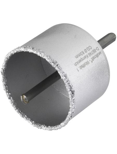 WOLFCRAFT Bohrkranz, Ø: 83 mm, Hartmetall