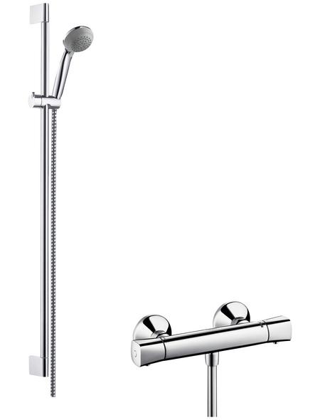 HANSGROHE Brause-Kombi »Crometta 85«, Höhe: 95,9 cm, chromfarben