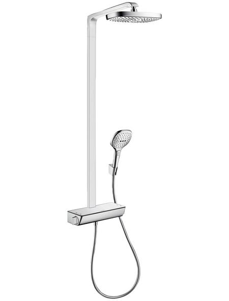 HANSGROHE Brause-Set »Raindance Select E«, Höhe: 106,6 cm, chromfarben