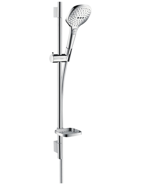 HANSGROHE Brause-Set »Raindance Select E«, Höhe: 71,8 cm, chromfarben