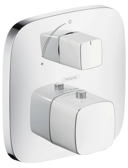 HANSGROHE Brause-Thermostat, Breite: 155 mm, Messing