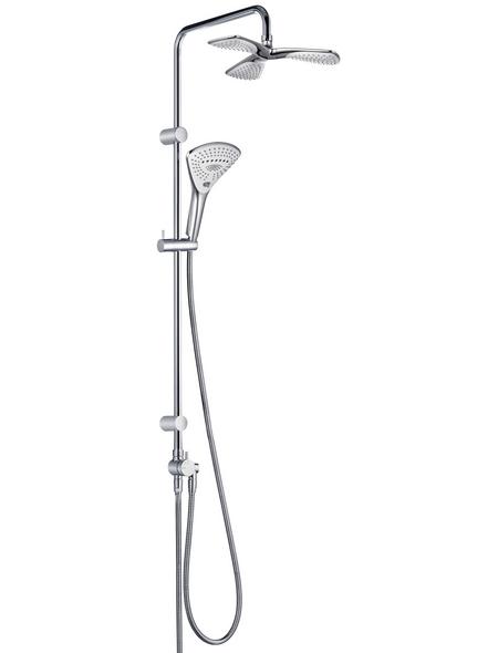 KLUDI Brausegarnitur »FIZZ«, Höhe: 115,5 cm, verchromt