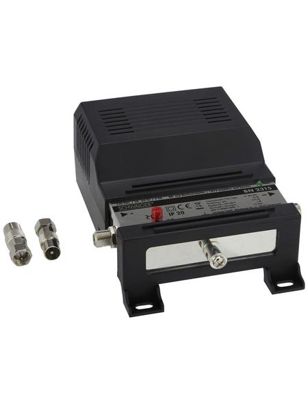 SCHWAIGER Breitbandkabel- und Nachverstärker, Schwarz, 30 db