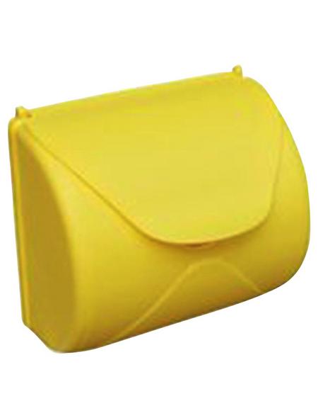 AKUBI Briefkasten, BxHxL: 23,3 x 14 x 25 cm, gelb