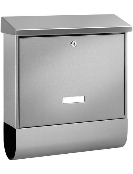 BURG WÄCHTER Briefkasten »Inoxstar«, 42,5 cm