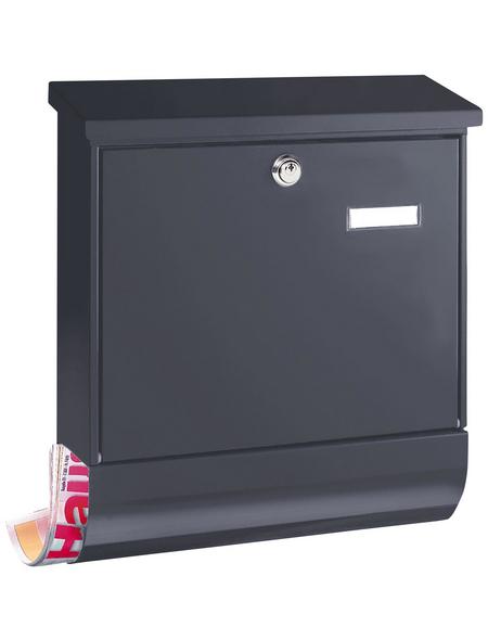 BURG WÄCHTER Briefkasten »Vario«, Stahl, anthrazit