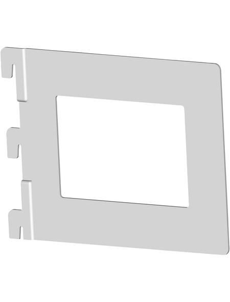 ELEMENT SYSTEM Bücherbügel, Stahl, weißaluminium